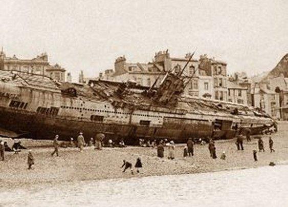 British Archaeologists Explore WWI Submarine Graveyard Off UK Coast - SPIEGEL ONLINE