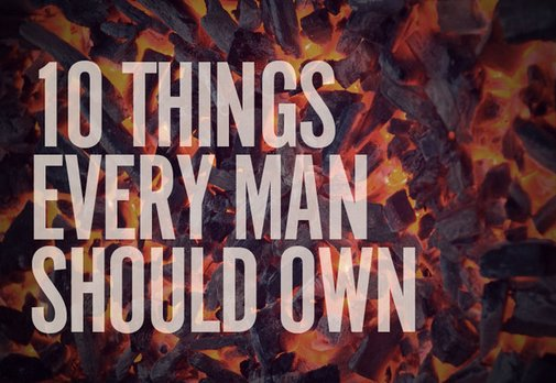 10 Things Every Man Should Own [Summer Edition] | Man Made DIY |