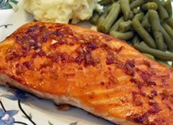 Easiest Spicy Salmon Ever