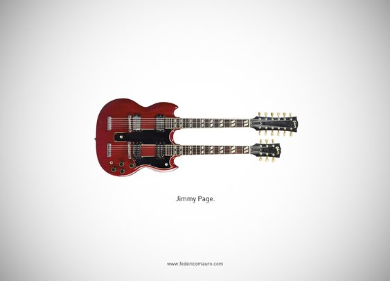 Famous Guitars, The Iconic Guitars of Famous Musicians
