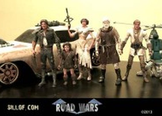 Road Wars: a Star Wars/Road Warrior action-figure mashup