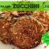 Parmesan Zucchini Crisps | Chasing Supermom