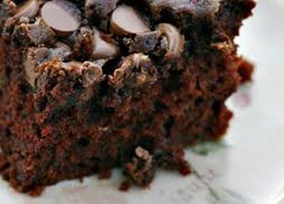 Chocolate Chip Zucchini Cake (aka-the BEST reason to plant zucchini!)
