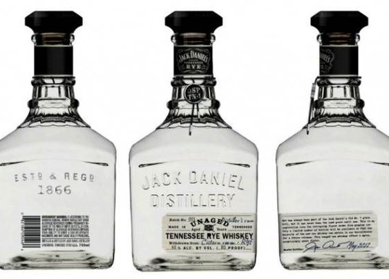 Jack Daniel's Unaged Tennessee Rye, the White Whisky | Baxtton