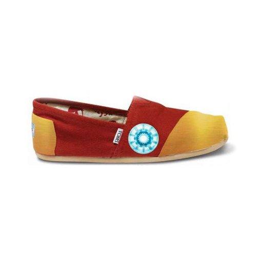 Iron Man TOMS Shoes