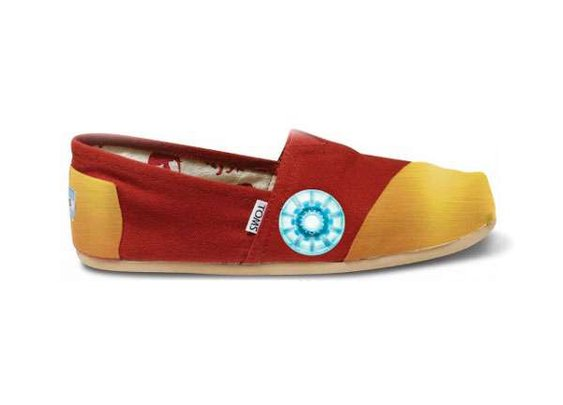 Iron Man TOMS Shoes