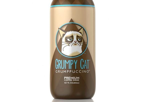 Grumpy Cat Grumppuccino Bottled Coffee Drink Announced