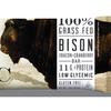 Bison Bacon Protein Bar