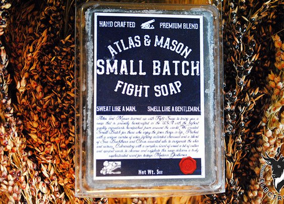 Atlas & Mason Fight Soap | Electrogent