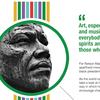 The Musical Life and Spirited Words of Nelson Mandela [Infographic]
