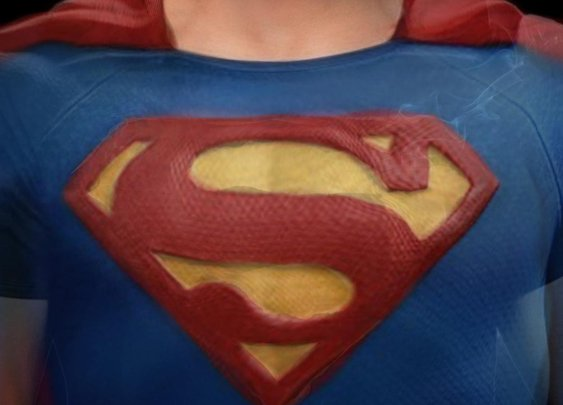 Composite picture of every Superman (unsurprisingly) has a sick chin