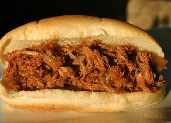 My Retro Kitchen: Dr. Pepper Pulled Pork in the Slow Cooker