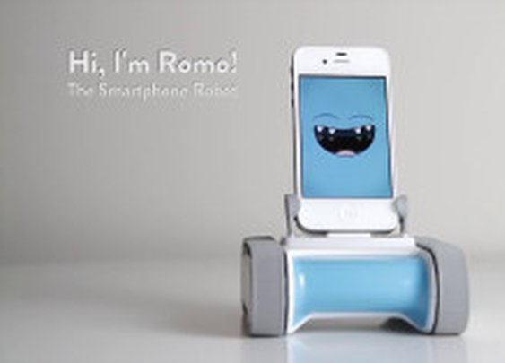 Romo The Smartphone Robot