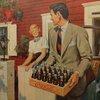 A gentleman never arrives empty-handed.