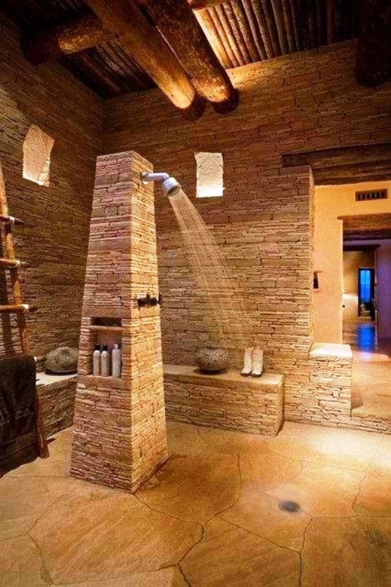 Superior Natural Stone Bathroom Design Ideas, Natural Stone Bathtubs, Pictures Photo Gallery