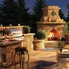 Awesome backyard grill area