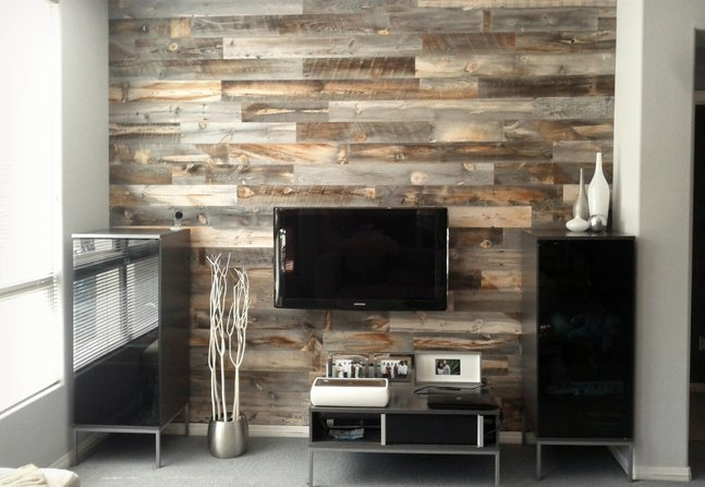 peel and stick wood wall decor backsplash cool material