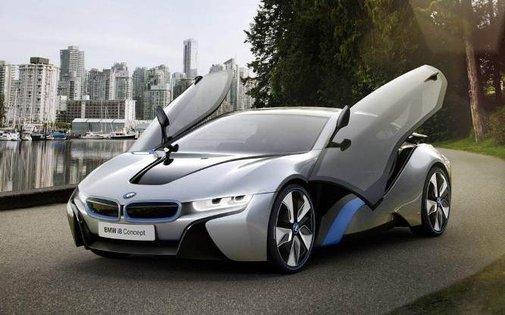 2014 new bmw i8 electric car plug in hybrid frankfurt