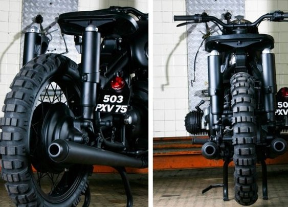 "BMW R60/2, a Tribute to ""The Great Escape"" 