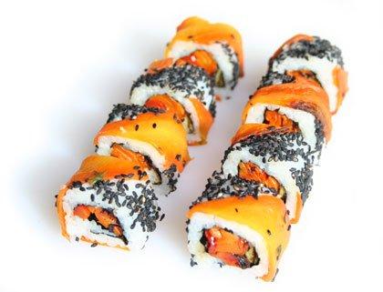 Homemade Uramaki Sushi | from SushiRolls.co.uk