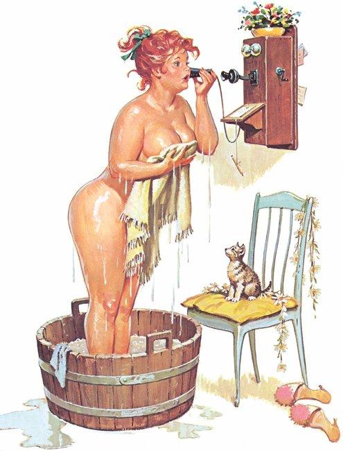 Hilda, 1950s Pinup Girl, Makes Us Very Happy