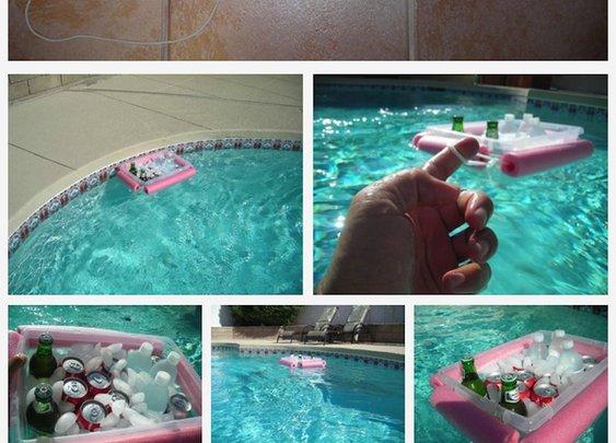 The Noodley Beverage Boat is genius