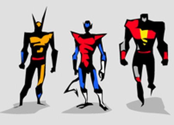 Marvel dc Motu Vector sketches on Behance