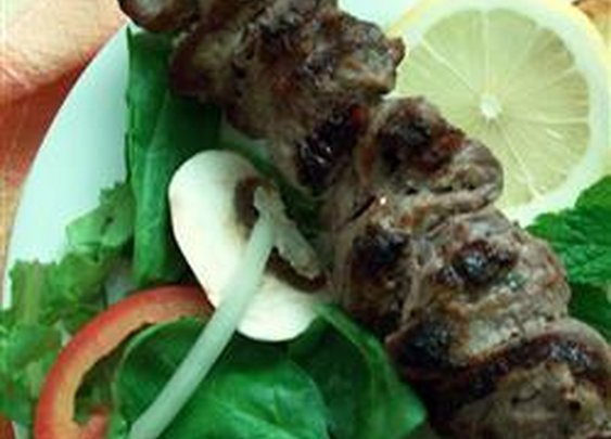 Marinated Greek Lamb Kabobs
