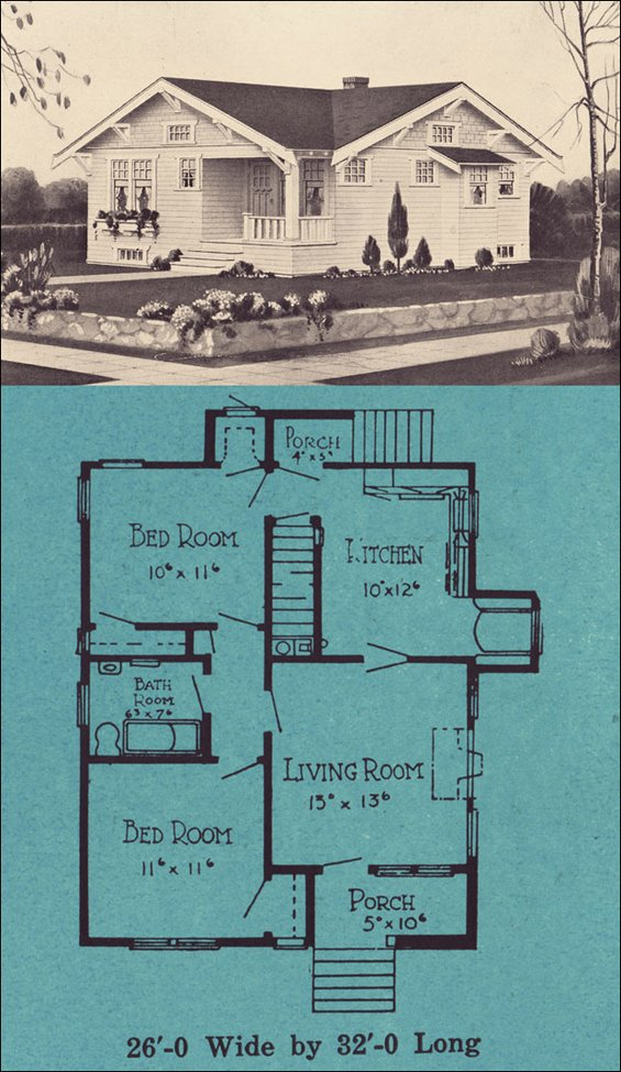 1920s bungalows stetson post seattle small house for Stetson homes floor plans