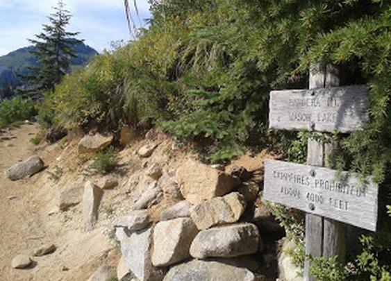 Urban Trailseeker: Ira Spring Trail to Mason Lake