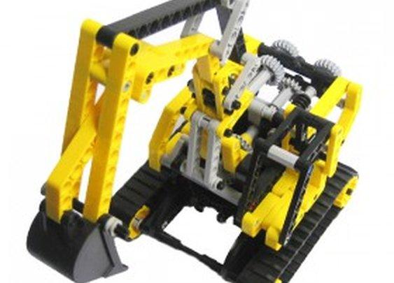 lego technic digger instructions