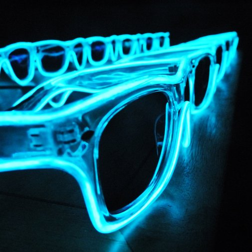 Glow in the Dark Wayfarer Sunglasses | That Should Be Mine