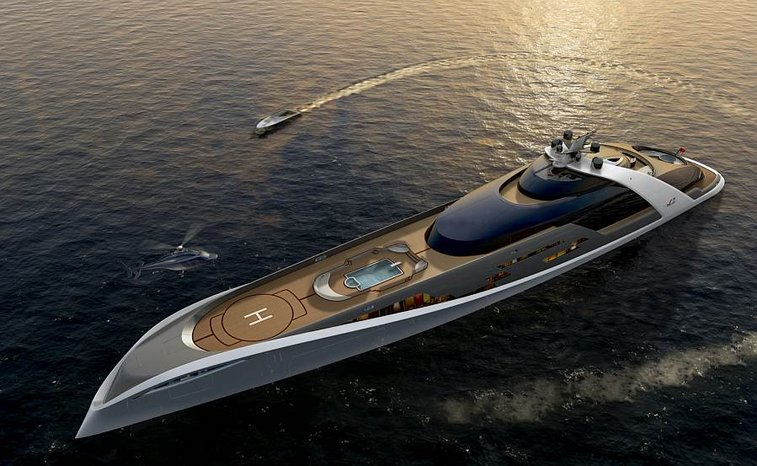 Superyachts for super men