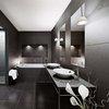 Minimalist Black Bathroom Design Ideas