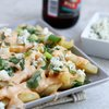 Buffalo Beer Cheese Fries | Bake Your Day