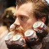 Taking the hipster beard to the next level.