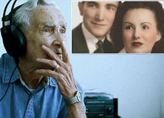 The tone- deaf 96-year-old who entered heartbreaking song he wrote for his late wife into contest ...