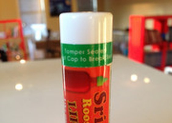 Sriracha Lip Balm - The Oatmeal