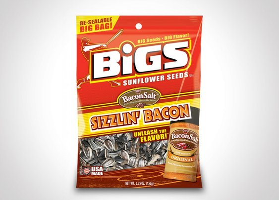 Gifts for Men - Bigs Sizzlin' Bacon Sunflower Seeds
