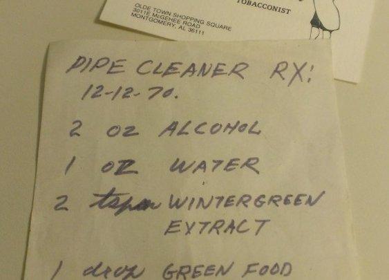 Heirloom Pipe Cleaning Solution | The Gentleman & Scholar