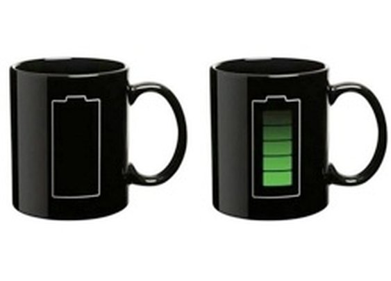 Worldfashion Battery Mug