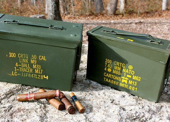 Battlefield tested. Cigar Lover Approved