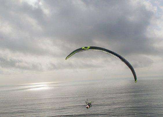 Hang Glider Paraglider Photograph San Diego Art by MurrayBolesta