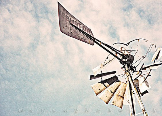 Vintage Windmill Art Photograph Aermotor of by MurrayBolesta