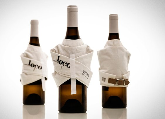 Straitjacket Wine Label: If You're Really Crazy About Merlot