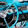 Ford Thunderbird Classic Car Art Photograph Blue by GuyThing