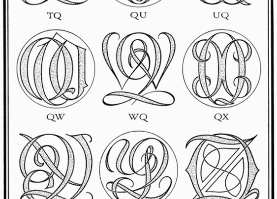 Project Gutenberg // Book of Monograms and Ciphers