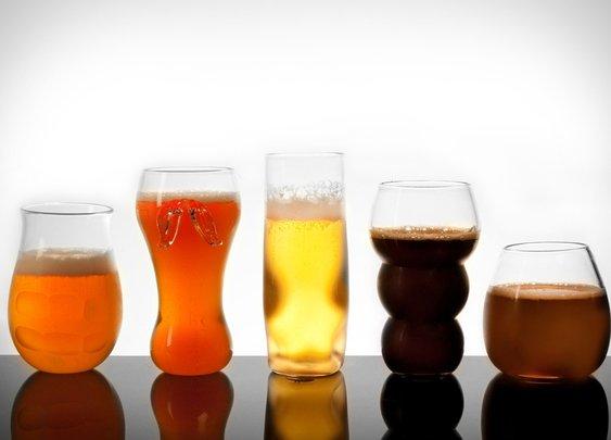 Pretentious Beer Glasses | Uncrate