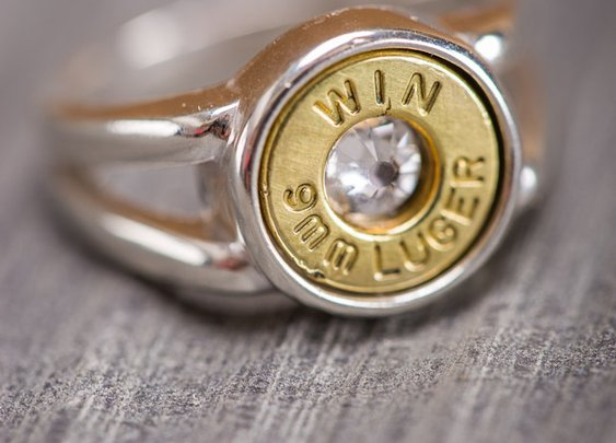 Silver Bullet Ring - Bourbon & Boots