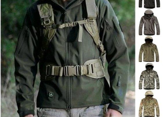 Men's Waterproof Army Outdoors Jacket